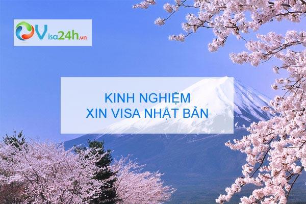 kinh nghiem xin visa nhat ban tu tuc